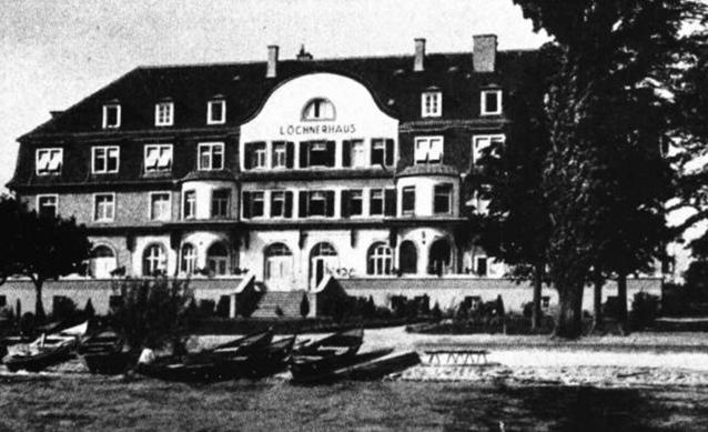 Ansicht des Löchnerhauses 1926